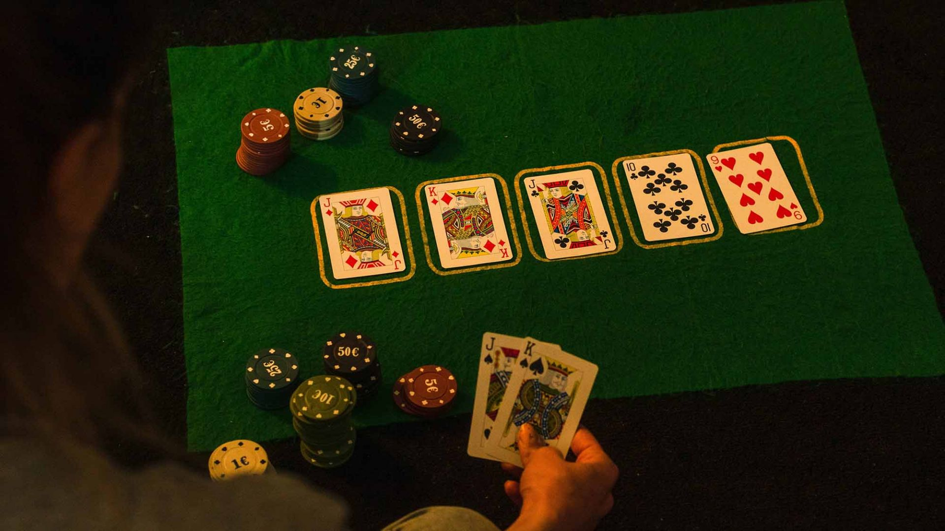 the role luck and skill play in poker